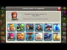 https://youtu.be/GUrOGR2EJQQ Gemming All Troops TH1 To TH11 | Maxing All Troops To Max Level Clash Of Clans | Clash With Ray  Gemming all the troops from town hall 1 to town hall 11. Maxing all the elixir troops to max level of clash of clans.  Clash of Clans is a freemium mobile MMO strategy video game developed and published by Supercell. Clash Of Clans was released for iOS platforms on 2 August 2012  and on Google Play for Android on 7 October 2013.    We will upload all the amazing…