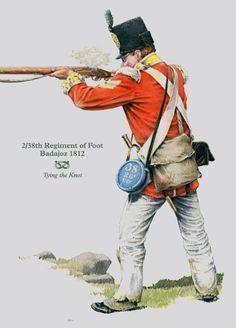 BRITISH ARMY - 2/38th Foot Regiment - Badajoz 1812