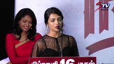 actress Ashna Zhavari speech @ Nagesh Thiraiyarangam pressmeet|MGRLatha,...