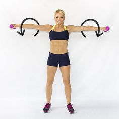 Get strong arms with these 6 moves from Skinny Mom!  #workout #arms