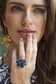 Making Of: Preview Verão 2014 Marcia Mello. #moda #fashion #estampas #acessorios #verao #marciamello  #retro #maquiagem #makeup #brincos #anel