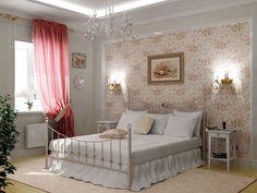 Спальня в стиле прованс: фото интерьера и дизайна своими руками, маленькая белая мебель, ремонт гарнитура, видео в деревянном доме