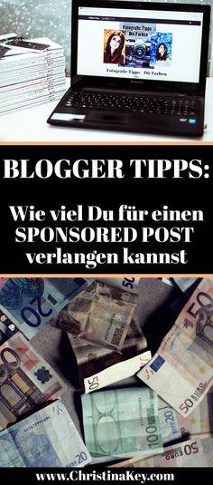 Blogger Tipp: So viel Geld kannst Du wirklich für einen Sponsored Post verlangen // Jetzt weitere Tipps rund um die Themen Bloggen, Fotografie und Mode auf CHRISTINA KEY entdecken - dem Lifestyle Blog aus Berlin