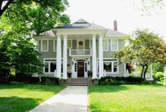 Canton, Ohio Notebook House, Different Architectural Styles, Ohio House, Plantation Homes, Big Houses, Dream Houses, House Roof, Kit Homes, Inspired Homes