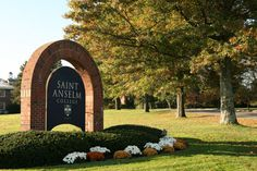 Saint Anselm College My new home for the next 4 years starting this fall