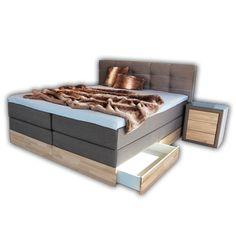 die besten 25 boxspringbett bettkasten ideen auf pinterest bett mit bettkasten boxspringbett. Black Bedroom Furniture Sets. Home Design Ideas