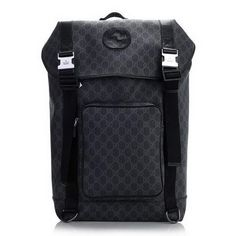 Gucci Backpack with Interlocking G Detail 246321 Black  dl9926  -  240.49    Gucci Outlet 4111973d038