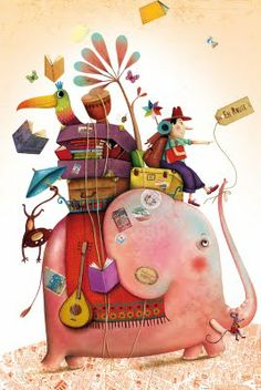 My absolute favorite is french illustrator Marie Desbons- her work is so elaborate and full of details and patterns , I just love it. Art And Illustration, Elephant Illustration, Illustrations Posters, Image Elephant, Elephant Love, Elephant Art, Grafic Design, Chez Laurette, Illustrator