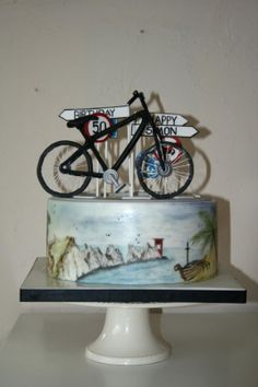 Keen cyclist cake