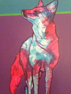 John Nieto Painting - Something in the Air on Chairish.com