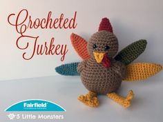 Free Pattern: Crocheted Turkey