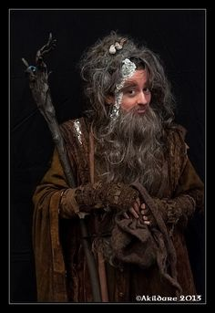 Radagast Cosplay, The Hobbit, The Lord of the Rings, Istari, Tolkien. Picture by www.andreas-kinder.de