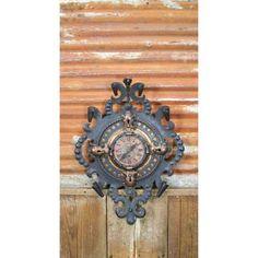 Rococo Clock  by Aurora Mills