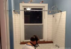 Planning Our DIY Bathroom Remodel, Solution For Window In Shower.