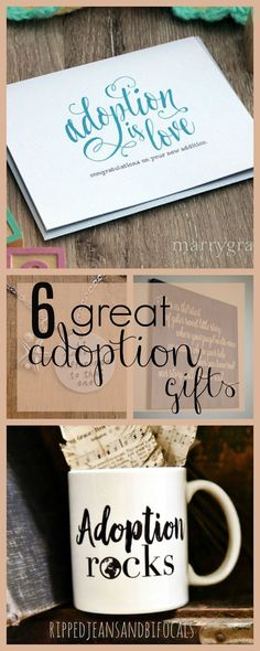 Six Great Adoption Gifts|RIpped Jeans and Bifocals