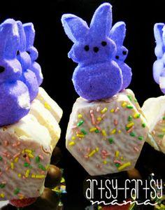 artsy-fartsy mama: Easter kabobs