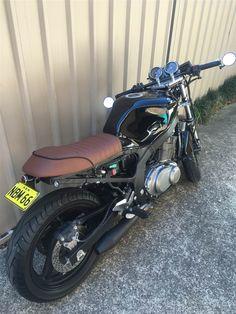 suzuki gs500 cafe racer / streetfighter   dream machines
