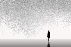THE INVISIBLES - SNOWFLAKES / Tokujin Yoshioka / Kartell Gallery, 2010