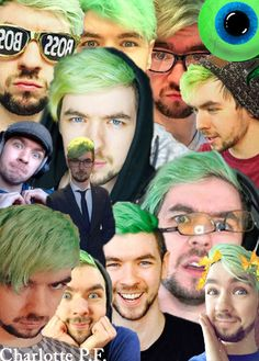 I made a new Jacksepticeye collage. This was just done out of boredom, so it's…