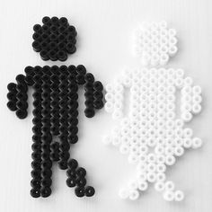 Toilet sign hama beads by mamma_diy