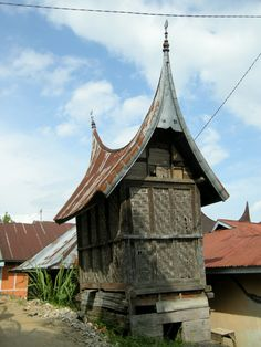 traditional granary - Sumatra, Indonesia - by selmadisini