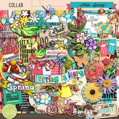 Hello, Spring by Little Butterfly Wings and Nerdy Scrappers $7.99