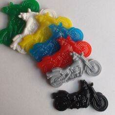 20 Motorcycle Soap Party Favors Motorcycle by TheBathofKhan, $30.00