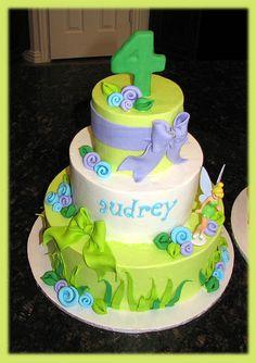 Tinkerbell cake by cakesbyashley, via Flickr