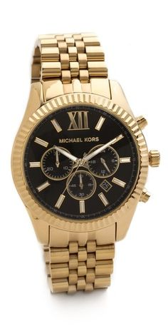 This Michael Kors watch is so.cool.