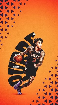Basketball Posters, Sports Posters, Nba Basketball, Kelly Oubre Jr, Nba Pictures, Sports Graphic Design, Sports Graphics, Phoenix Suns, Sports Wallpapers