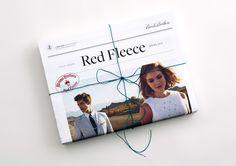 Red Fleece Editorial Newspaper
