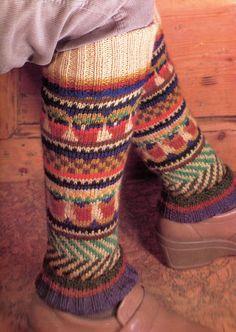 Winter Warm Knit Legwarmers Pattern, Winter accessory on Etsy, $1.95