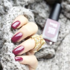 Shoppinator-DM-Eigenmarke-Trend-it-up-Nagellack-Swatches-Swatch-Review-Drogerie-Kosmetik-P2-Polish-lackiert-Tragebild-Farbe-Farbname-Name-070-70-090-90-240-260-Rosa-Pink-Grau-Flieder-Lila-Bordeuaux-günstig