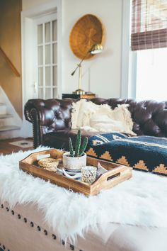 Thoughts from Alice: Rustic Tray Styling & Remembering Grandpa