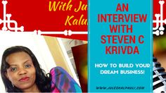 Steven Krivda on Your Home Business Success - Podcast! #yourpowerechoes #stevekrivda