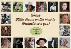 Which Little House on the Prairie Character are you? Take the exclusive Little House on the Prairie Personality Quiz to find out!