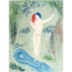 Artwork by Marc Chagall, Daphnis et Chloé, Made of Four color lithographs