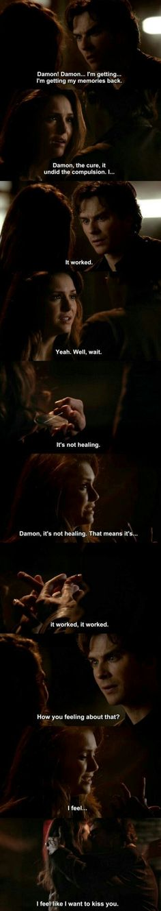 I hated that Elena wanted to be human again