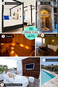 Find out where to book a sexy hotel for your next Spring Fling!
