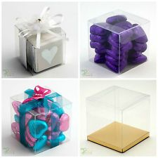 Luxury Transparent PVC Cube Chocolate Sweets Cup Cake Wedding Favour Gift Boxes in Home, Furniture & DIY, Wedding Supplies, Wedding Favours Inexpensive Wedding Favors, Unique Wedding Favors, Wedding Party Favors, Bridal Shower Favors, Cake Wedding, Wedding Ideas, Chocolate Sweets, Chocolate Gifts, Chocolate Wedding Favors