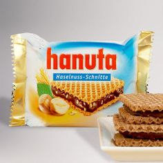 One of my favorite discoveries at WorldMarket.com: Kinder Hanuta Bar