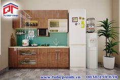 Tủ bếp xinh Tủ bếp gia đình