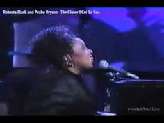 Roberta Flack and Peabo Bryson - The Closer I Get To You.flv - YouTube   Wow!