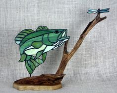 stained glass fish – Etsy