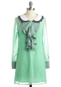 sea-foam green, collar, ModCloth