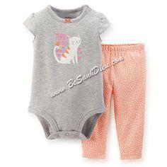 Bộ Bodysuits Carter's cho bé từ 9kg đến 11kg Quần áo bé gái Set Body suit Carter's 2 món, hàng Cambodia xuất khẩu. Chất thun cotton xịn, mềm, mịn, độ co giãn cao. Màu sắc và hình thêu vô cùng xinh xắn, đáng yêu.