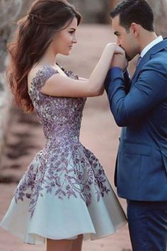 A Line Short Prom Dress, Elegant Appliques Prom Gowns, Short Homecoming Dress on Luulla Sexy Homecoming Dresses, Cheap Prom Dresses, Prom Party Dresses, Short Dresses, Bridesmaid Dresses, Prom Gowns, Dress Party, A Line Shorts, Prom Pictures