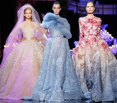 Elie Saab Couture Fall/Winter 2014-2015 Collection - Fashion Trends, Makeup Tutorials, Hairstyles and Style Secrets