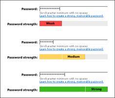 msn password strength meter