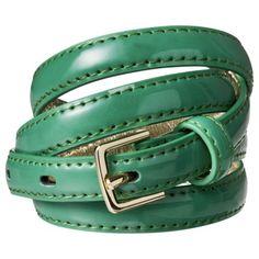 Merona® Color Sknny Belt - Green